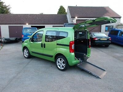 Wheelchair Accessible Wav Disabled Mobility 2013 63 Fiat Qubo 1.4 Petrol Only 3K