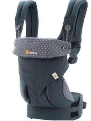 Ergo 360 Four Position breathable carrier Dusty gray New w box ~!