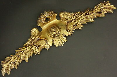 Pediment, Louis Xvi Style, Era 19Th - Bronze - French Antique