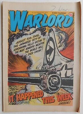 WARLORD Comic #254 - 4th August 1979