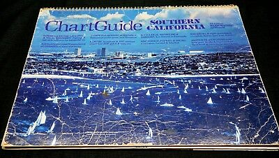 Southern California Chart Guide 7th Edition 71 pages Great Vintage Photos & Info