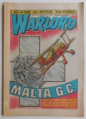 WARLORD Comic #271 - 1st December 1979