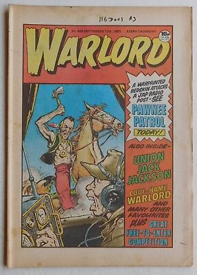 WARLORD Comic #469 - 17th September 1983