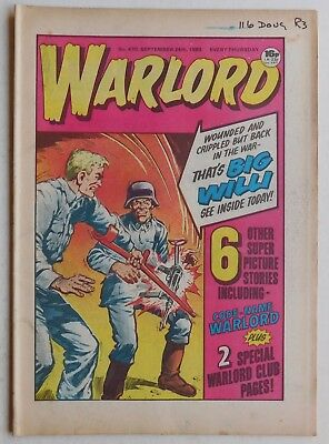 WARLORD Comic #470 - 24th September 1983