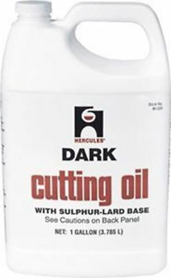 Hercules 40215 Dark Cutting Oil - 1 Quart