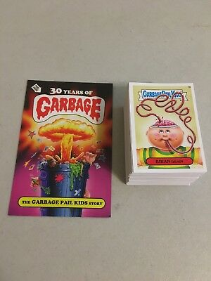 Garbage Pail Kids TOPPS 2015 Complete Base 1-66 A/B Set of 132 Cards