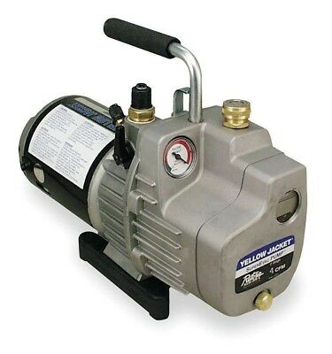 Yellow Jacket, 93560, SuperEvac 6 CFM Single Phase Vacuum Pump, 115V (60 Hz)