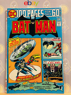 Batman #258 (8.5) VF+ Two-Face Appearance 1974 Bronze Age Key Issue