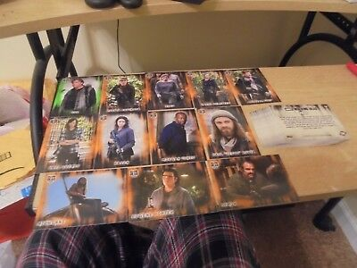 2018 Walking Dead Hunters and The Hunted 41 Card Lot of Parallel cards - Listed