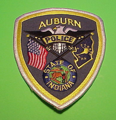 Auburn  Indiana  In   Police Patch   Free Shipping!!!