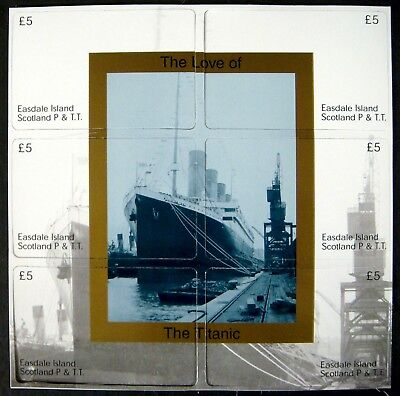 Easdale Island Scotland Titanic Phone Cards Puzzle Set Of 6 Limited Edition 1200