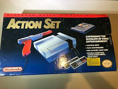 Nintendo Entertainment System Action Set NES Brand New In Box Console