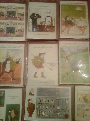 50 Tottering Cards, Wholesale Joblot Greeting Cards