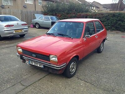Mk1 Ford Fiesta 1978 LHD with Super sport interior
