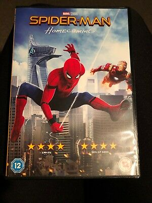Marvel Studios Spiderman - Homecoming DVD 2017