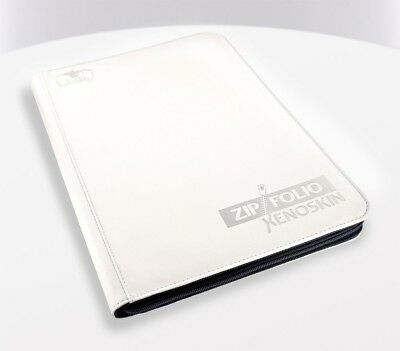 Ultimate Guard 9-Pocket ZipFolio XenoSkin White Ultimate Guard