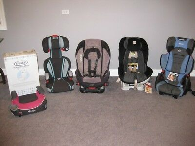 Car Seats for infants and toddlers. Ricardo, Graco, Britax,Evenflow