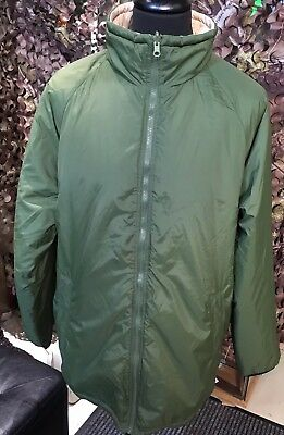 British Army Issue Green/Sand Coloured Reversible Thermal Cold Weather Jacket