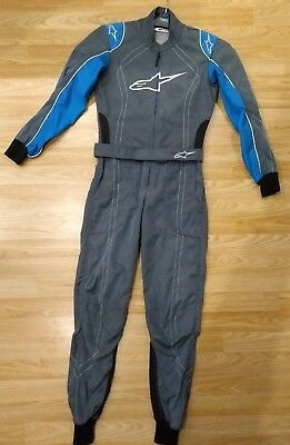 Alpinestars K-MX9 Level 2 Race Kart Suit. MSA/Motorsport UK legal.