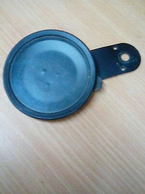 Vintage classic  metal tax disc holder motorbike /moped