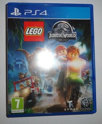 PlayStation 4 PS4  Lego Jurassic Park World