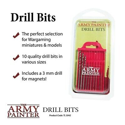 Drill Bits The Army Painter Brand New AP-TL5042