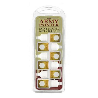 Paint Mixing Empty Bottles The Army Painter Brand New AP-TL5040