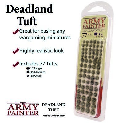 Deadland Tuft The Army Painter Brand New AP-BF4230