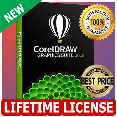 CorelDRAW X8 Graphics Suite 2018 Full | Lifetime Key | Official Download