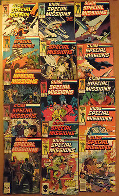G.I. Joe Special Missions  # 1 - 28 ..set of 15 Marvel Comics