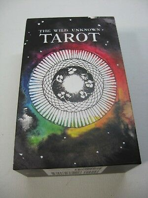 The Wild Unknown Tarot (2nd Edition) Pristine Condition Unused 78 Cards