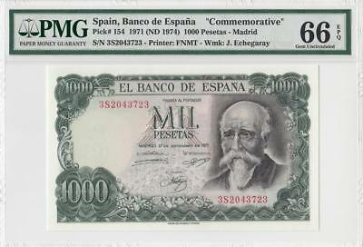 17.9.1971 Bank Of Spain 1000 Pesetas **madrid** (( Pmg 66 Epq ))