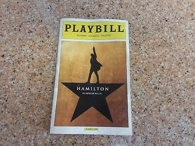 Hamilton Playbill  Miranda, Soo, Odom Jr  May 2016