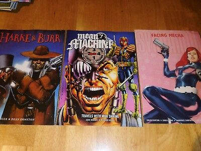 Judge Dredd  Megazine Comics X3