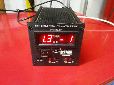 MKS 947 Convection Enhanced Pirani Controller w/Gauge Tube