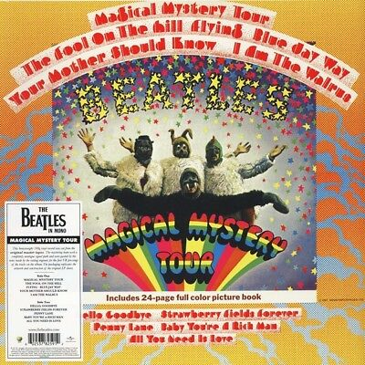 Beatles Magical Mystery Tour MONO 2014 LIMITED LP FACTORY SEALED RAREST CHECK!