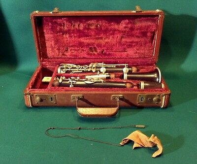 Antique Clarinet - Ault XX Supreme Import - w/ mouthpiece & Vintage Case