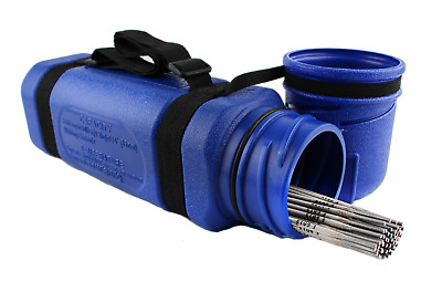 350mm / 4.5kg capacity / electrode container / cannister / welding rods holder.