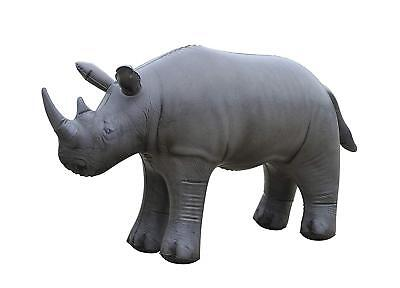 Inflatable Rhino Animal Baby White Rhinoceros wild life 36 inches party