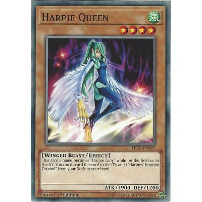 x1 Harpie's Feather Rest - LED4-EN004 - Ultra Rare - 1st Edition Near Mint In Ha