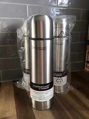 Job Lot 3 X Brand New Stainless Steel THERMOS vacuum Insulated Flasks 500ml