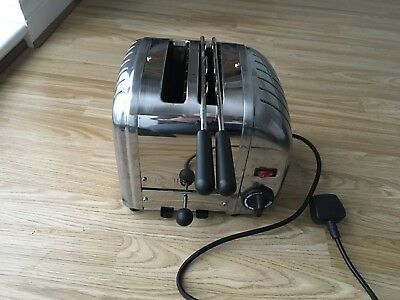 Dualit Classic 2-Slot Toaster - Stainless Steel **NO RESERVE**