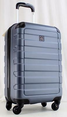 """Tag Matrix 20"""" Gray Lightweight Hardside Spinner Carry On Suitcase"""