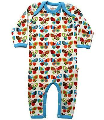 NEW! KUTUNO JUMPSUIT with BUTTERFLIES Size 74 (6-9 months)