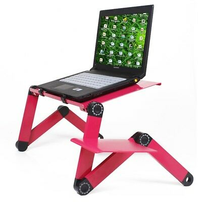"Portable Adjustable Tablet Stand Riser Holder Ergonomic for 17"" Laptop PC W7S2"