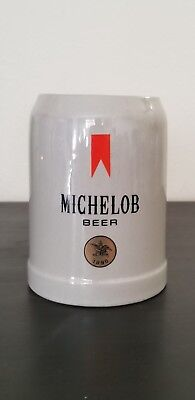 Michelob Beer Mug Stein Stoneware Pottery 0.5L Made In West Germany