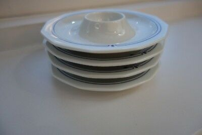 THOMAS Germany Porcelain Stackable Egg Cups x 4