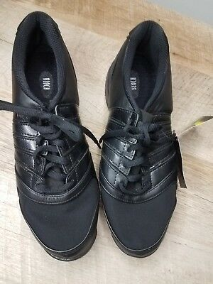 Brand NEW with tags! Bloch Dance Sneakers Womens Size 9.5 M Black Jazz Shoes