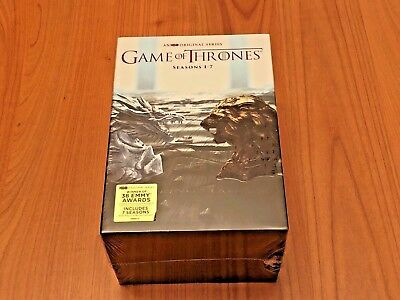 Game of Thrones: The Complete Seasons 1-7 (DVD, 2017)  free shipping