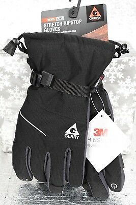 NEW Men's GERRY L/XL STRETCH RIPSTOP COLD WEATHER ALL-ACTIVITY GLOVES THINSULATE